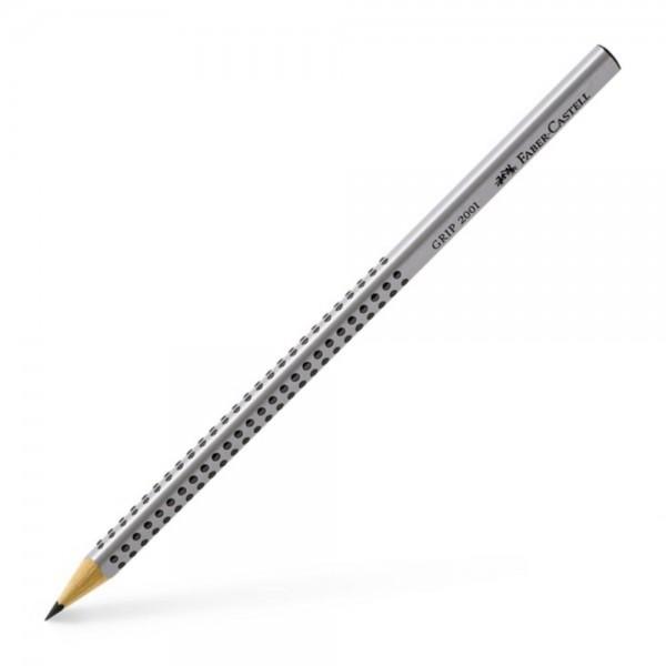 Μολύβι Grip 2001 Grey 2=ΗB Faber Castell
