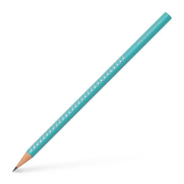 Μολύβι Sparkle Tιρκουαζ B Faber Castell