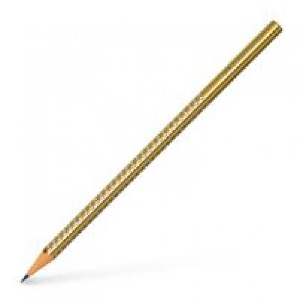 Μολύβι Sparkle Χρυσό B Faber Castell