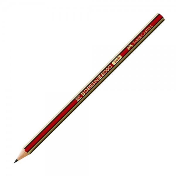 Μολύβι dessin 2000 2=B Faber Castell