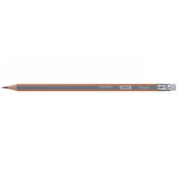 Μολύβι Black'Peps 2H Με Γόμα Maped