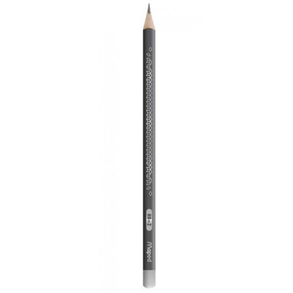 Μολύβι Black'Peps Deco HB Γκρι Maped
