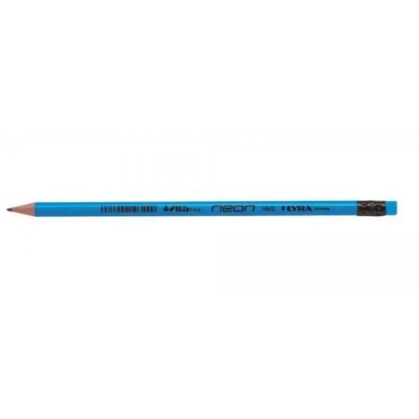 Μολύβι Neon Μπλε HB Lyra