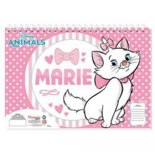 Μπλόκ Ζωγραφικής Marie Cat 40 Φύλλα - Diakakis