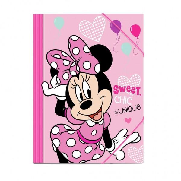 Φάκελος με λάστιχο Minnie