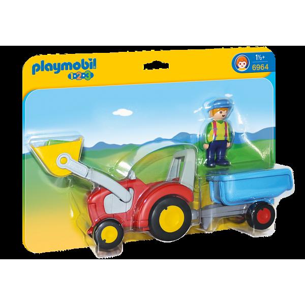 Playmobil 6964 Τρακτέρ με καρότσα