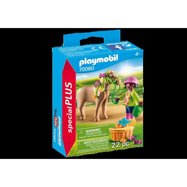 Playmobil 70060 Κορίτσι με Πόνυ