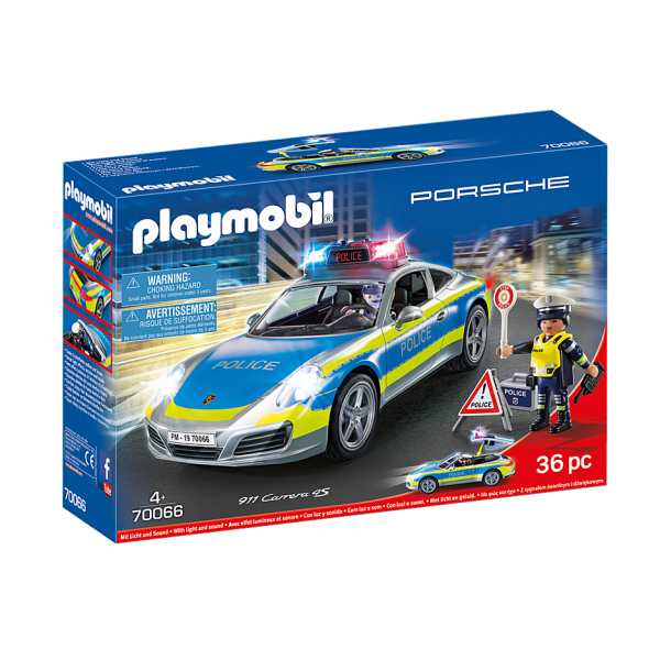 Playmobil 70066 Porsche 911 Carrera 4S Αστυνομικό όχημα