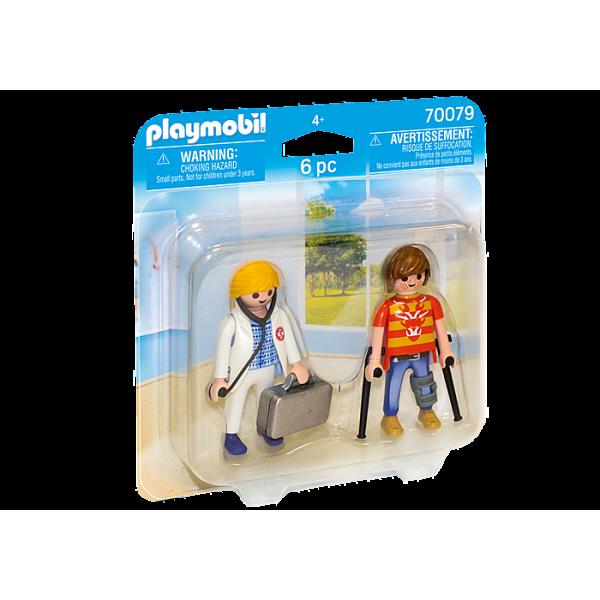 Playmobil 70079 Γιατρός και ασθενής