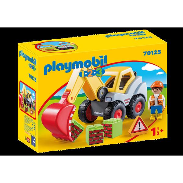 Playmobil 7015 Φορτωτής Εκσκαφέας