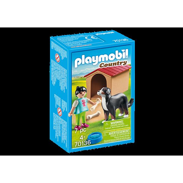 Playmobil 70136 Παιδάκι με σκύλο