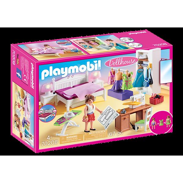 Playmobil 70208 Υπνοδωμάτιο με Ατελιέ ραπτικής