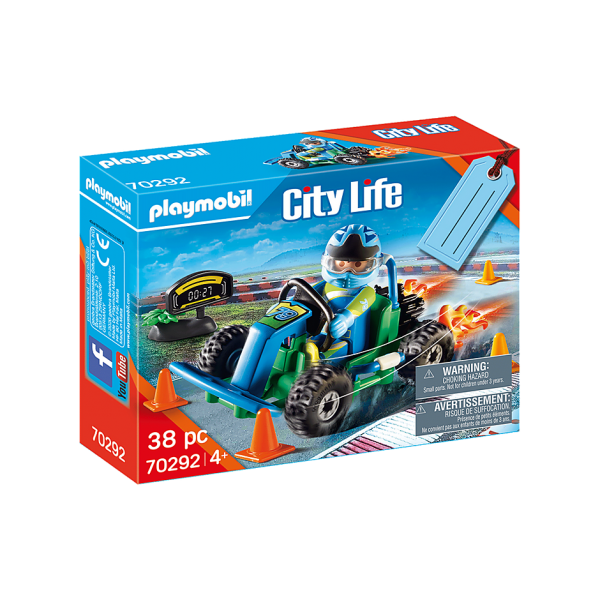 Playmobil 70292 Οδηγός με Go-Kart