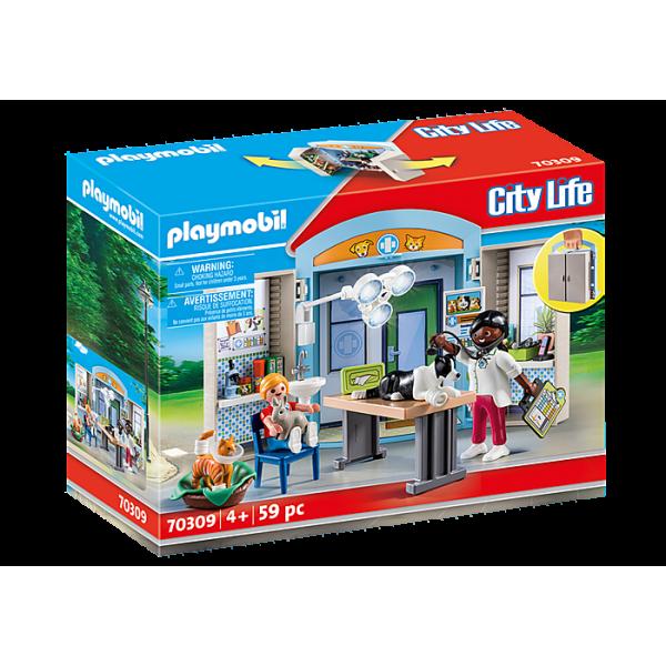 Playmobil 70309 Κτηνιατρείο