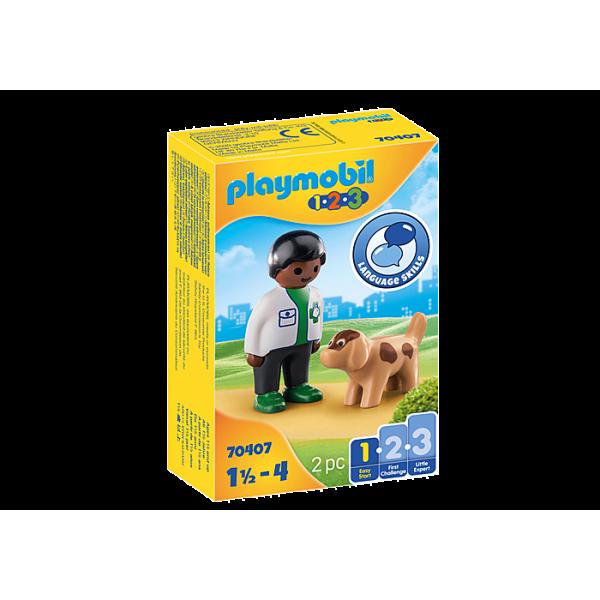 Playmobil 70407 Κτηνίατρος με σκυλάκι