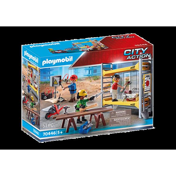 Playmobil 70446 Εργάτες με σκαλωσιά