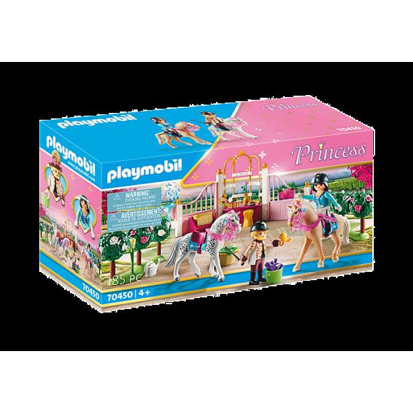Playmobil 70450 Μαθήματα ιππασίας στον βασιλικό στάβλο