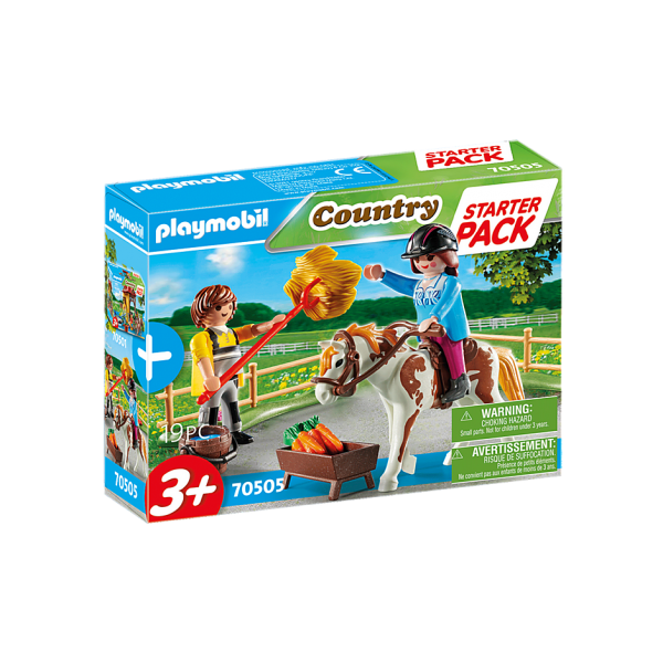 Playmobil 70505 Φροντίζοντας το άλογο