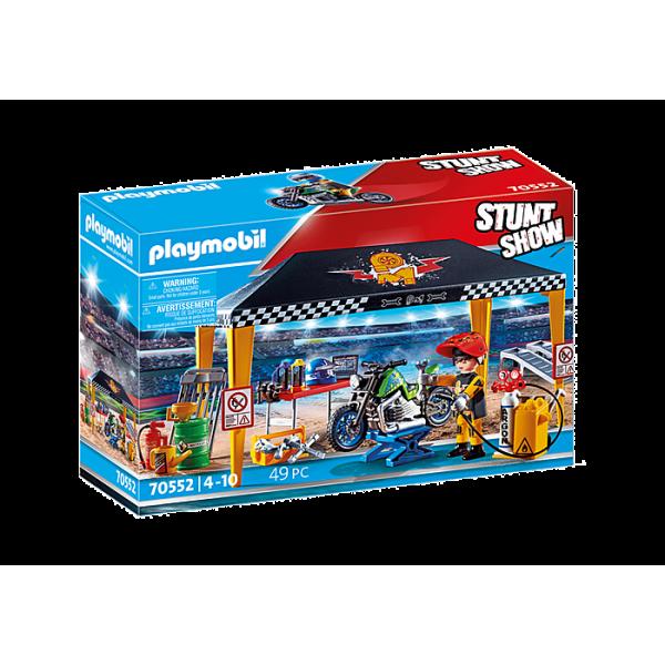 Playmobil 70552 Σκηνή-Συνεργείο επισκευών