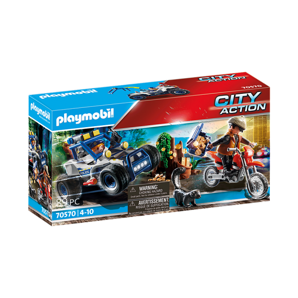 Playmobil 70570 Αστυνομική καταδίωξη off-road