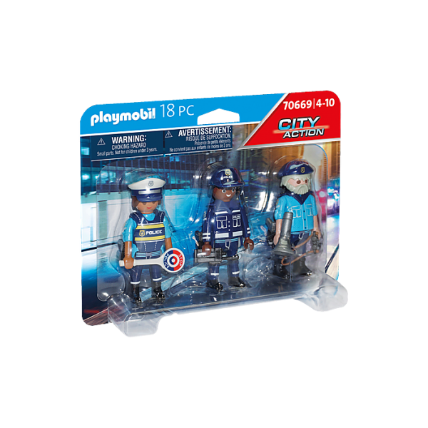 Playmobil 70669 Ομάδα αστυνόμευσης