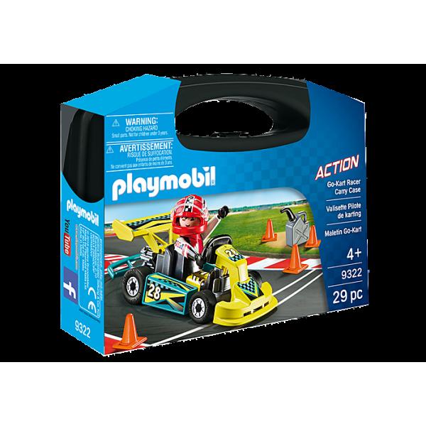 Playmobil 9322 Βαλιτσάκι Go-Kart