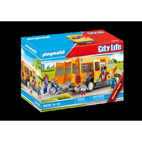 Playmobil 9419 Σχολικό λεωφορείο