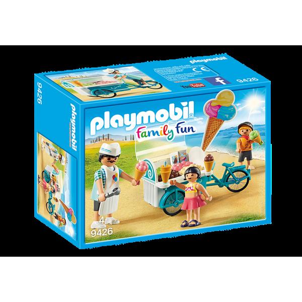 Playmobil 9426 Παγωτατζής με ποδήλατο ψυγείο