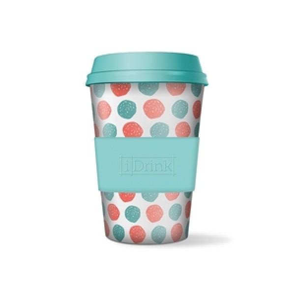 Κούπα i-Drink Βamboo 435ml Dots