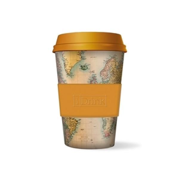 Κούπα i-Drink Βamboo 435ml Χάρτης