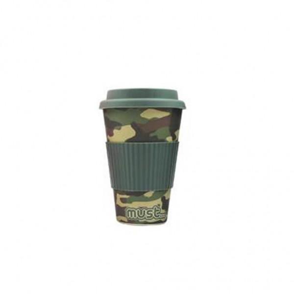 Κούπα από Μπαμπού 480ml Militaire Must