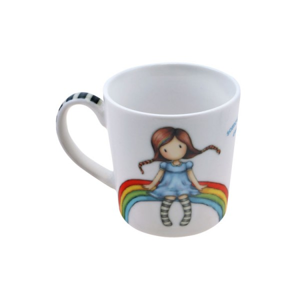 Κούπα Gorjuss Rainbow Heaven Santoro