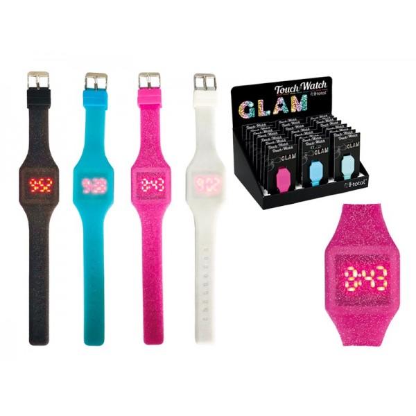 Ρολόι Χειρός Touch Led Glitter i-Total