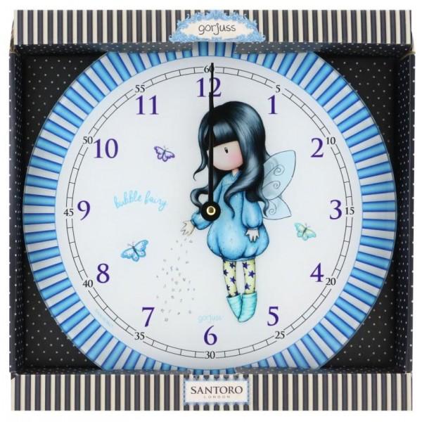 Ρολόι Τοίχου Gorjuss Bubble Fairy Santoro