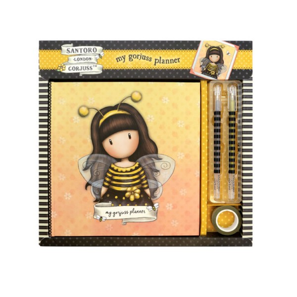 Σημειωματάριο με στυλό Gorjuss Bee Loved Santoro