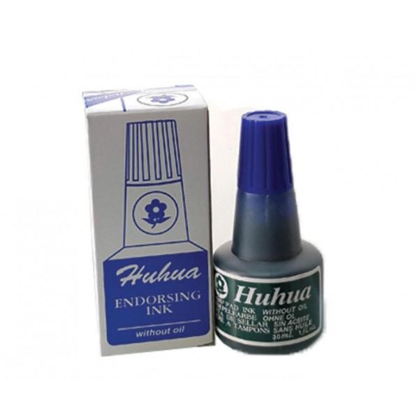 Μελάνι για ταμπόν 30ml Μπλε Huhua
