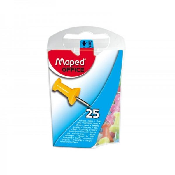 Πινέζες Υπομνήσεων 10mm 25τμχ Maped