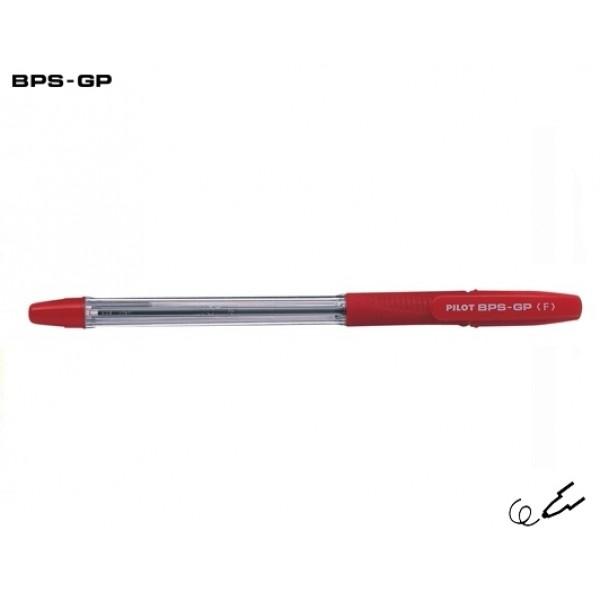 Στυλό BPS-GP Fine 0.7mm Κόκκινο Pilot