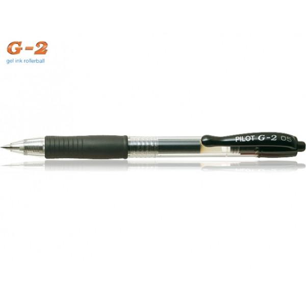 Στυλό G-2 0.5mm Μαύρο Pilot