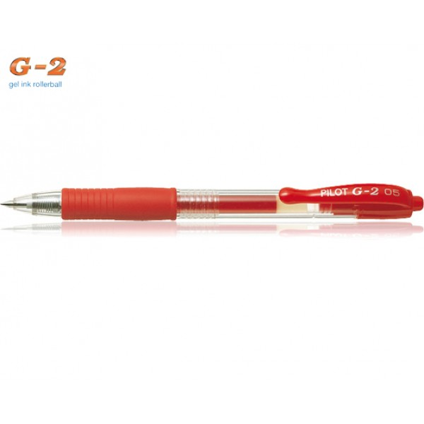 Στυλό G-2 0.5mm Κόκκινο Pilot
