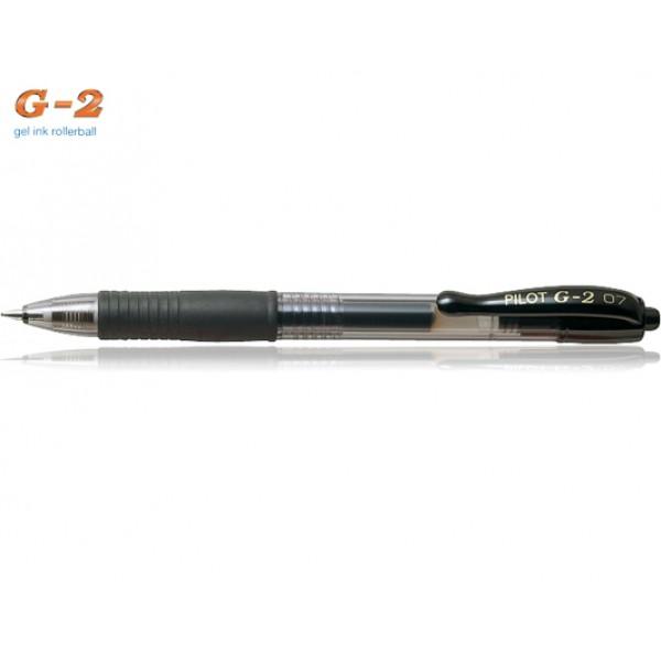 Στυλό G-2 0.7mm Μαύρο Pilot