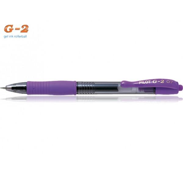 Στυλό G-2 0.7mm Μωβ Pilot