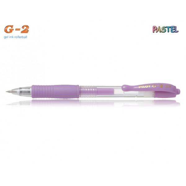Στυλό G-2 0.7mm Μωβ Παστέλ Pilot
