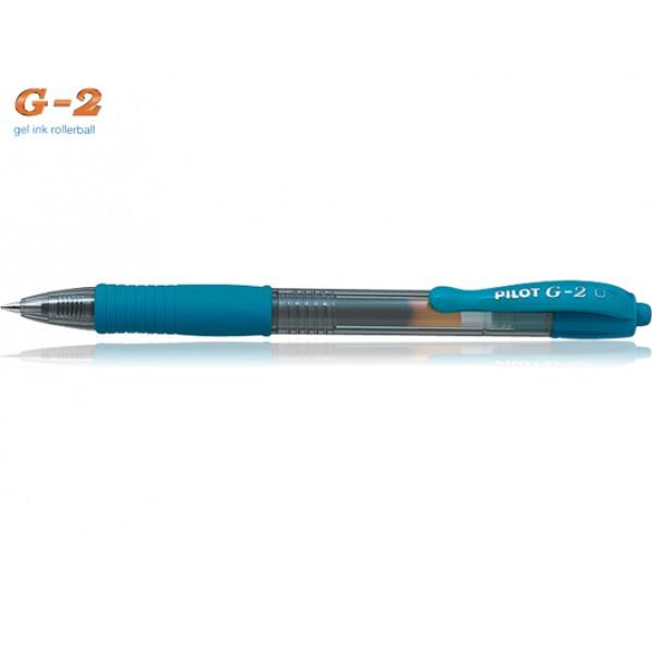 Στυλό G-2 0.7mm Σιέλ Pilot