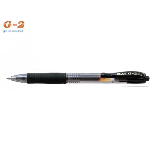 Στυλό G-2 1.0mm Μαύρο Pilot