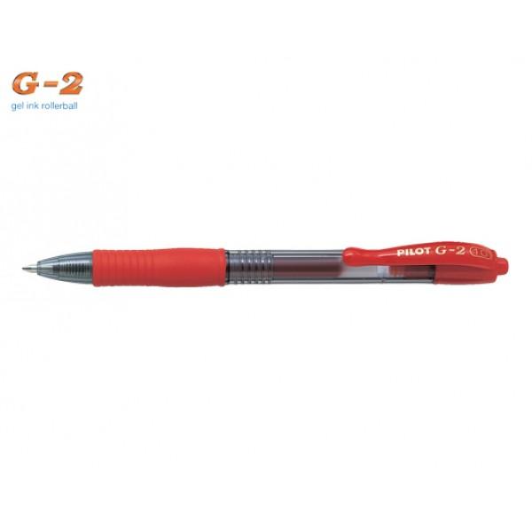 Στυλό G-2 1.0mm Κόκκινο Pilot