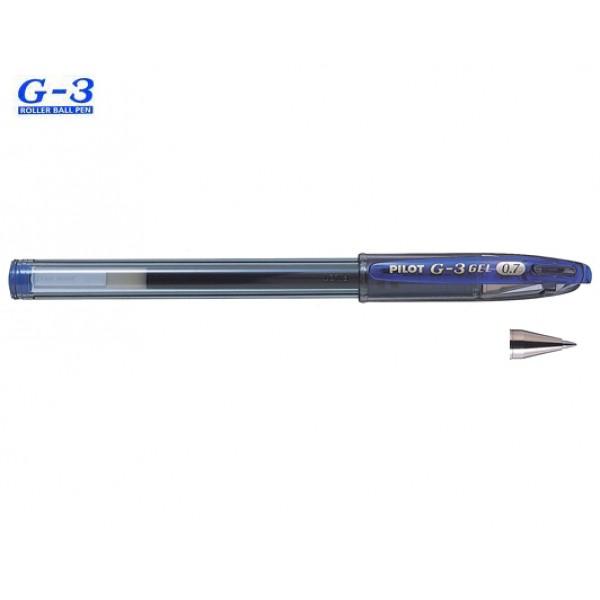 Στυλό G-3 0.7mm Μπλε Pilot