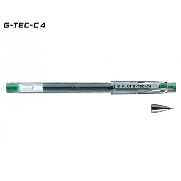 Στυλό HI-TEC-C 0.4mm Πράσινο Pilot