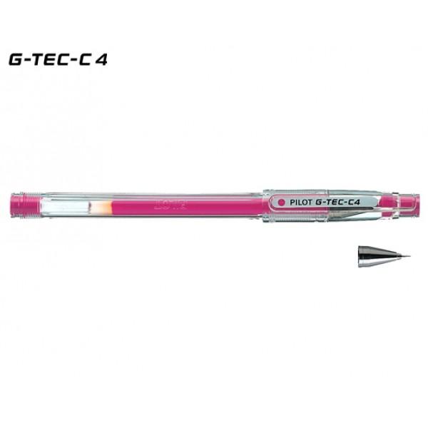 Στυλό HI-TEC-C 0.4mm Ροζ Pilot