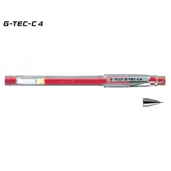 Στυλό HI-TEC-C 0.4mm Κόκκινο Pilot